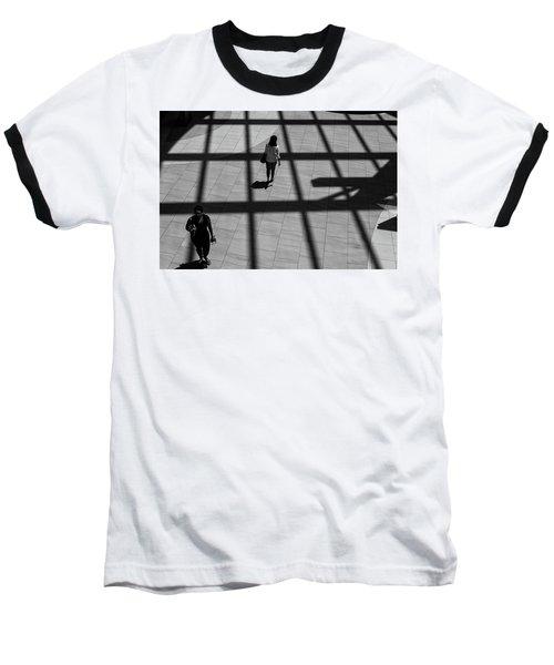On The Grid Baseball T-Shirt