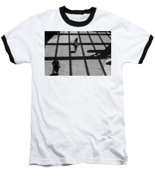 On The Grid Baseball T-Shirt