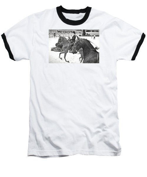 On The Outside Charcoal Baseball T-Shirt by Alice Gipson
