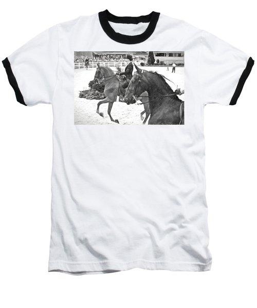 On The Outside Charcoal Baseball T-Shirt