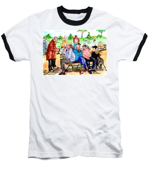 Once Upon A Park Bench Baseball T-Shirt