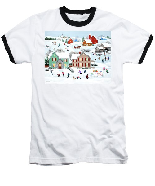 Once Upon A Winter Baseball T-Shirt