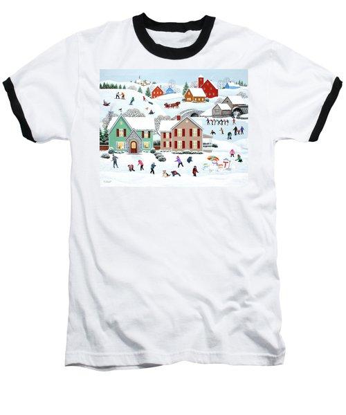 Once Upon A Winter Baseball T-Shirt
