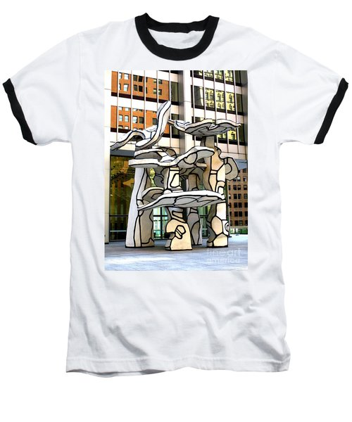 One Chase Manhattan Plaza 1 Baseball T-Shirt