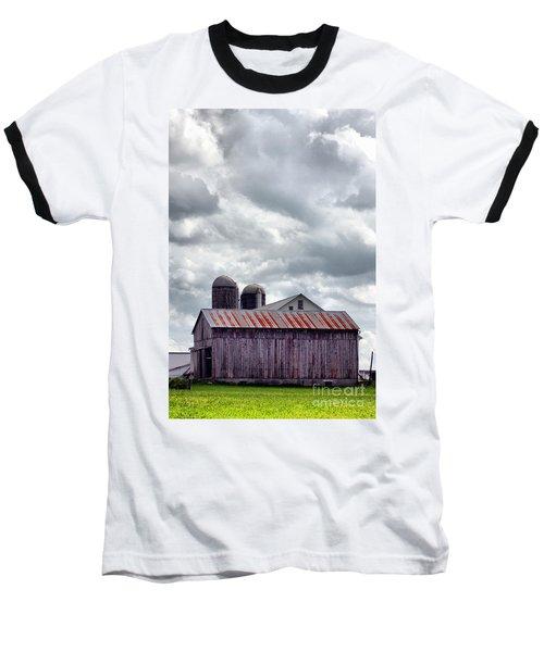 One Fine Cloudy Day  Baseball T-Shirt