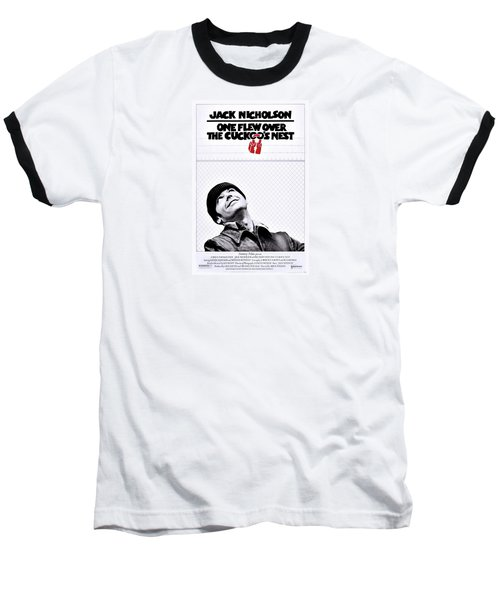 One Flew Over The Cuckoo's Nest Baseball T-Shirt