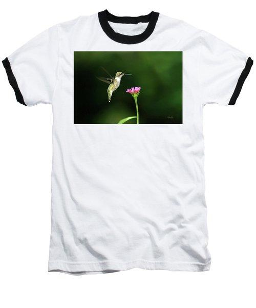 One Hummingbird Baseball T-Shirt