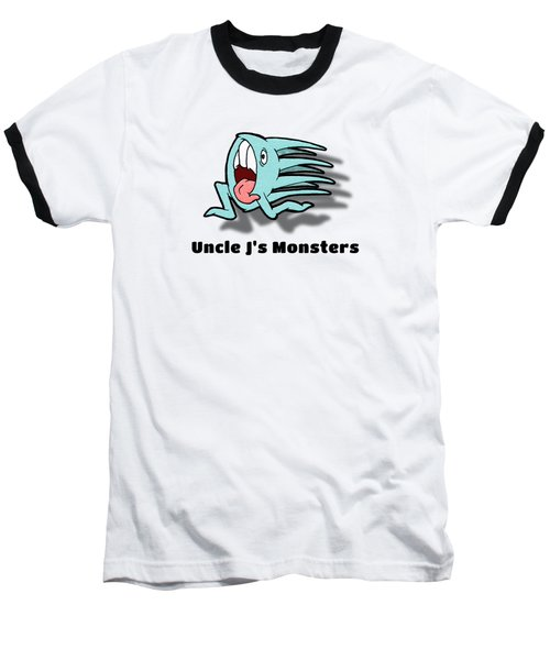One Of Those Days Baseball T-Shirt by Uncle J's Monsters