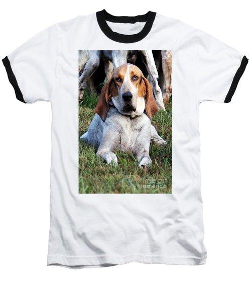 One Tired Hound Baseball T-Shirt