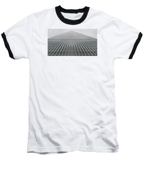 One World Trade Baseball T-Shirt by Christopher Kirby