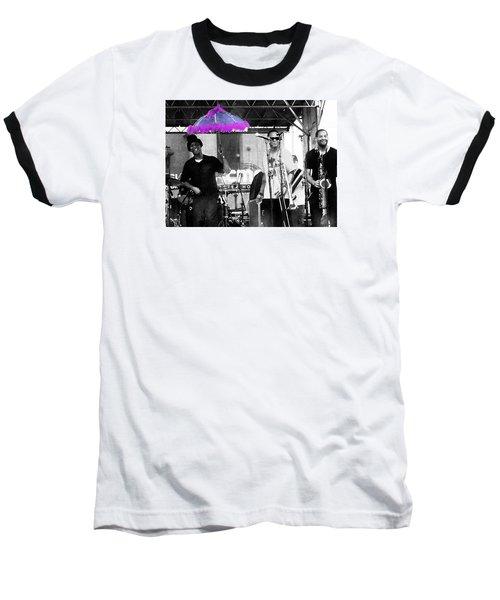 Only In Nola Baseball T-Shirt by Steve Archbold