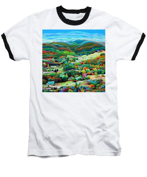 Onset Of The Appalachian Wonderfall Baseball T-Shirt