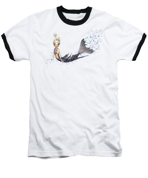 Opal Mermaid Baseball T-Shirt