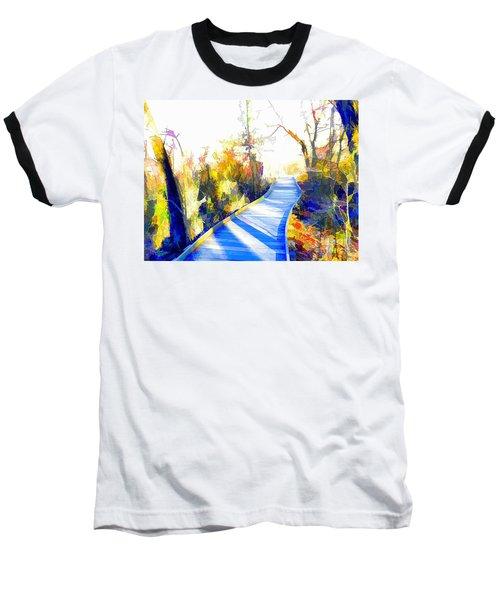 Open Pathway Meditative Space Baseball T-Shirt