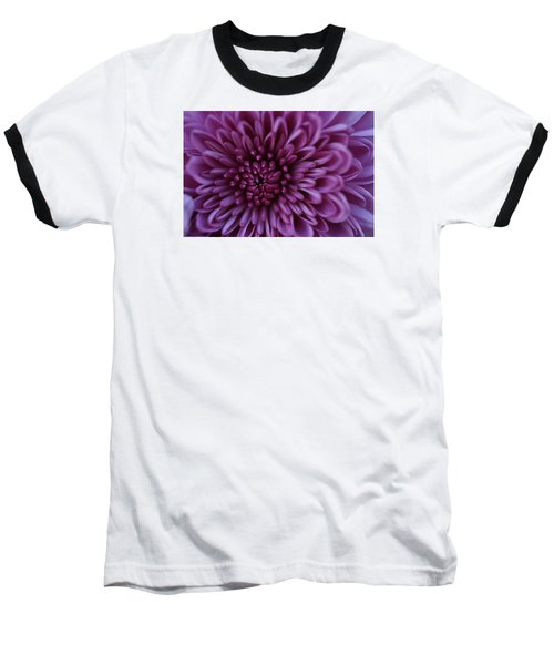 Baseball T-Shirt featuring the photograph Purple Mum by Glenn Gordon