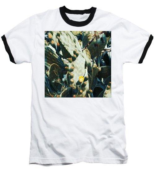 Opuntia Ficus Baseball T-Shirt