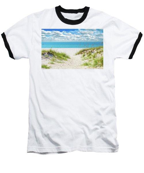 Orange Beach Al Seascape 1086a Baseball T-Shirt