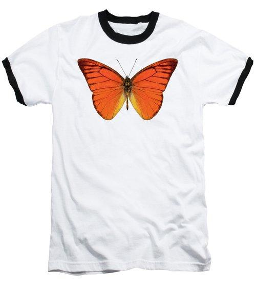 Orange Butterfly Species Appias Nero Neronis  Baseball T-Shirt