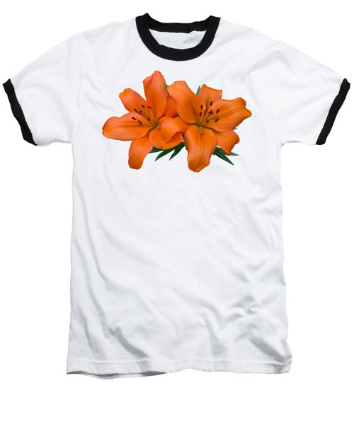 Baseball T-Shirt featuring the photograph Orange Lily by Jane McIlroy