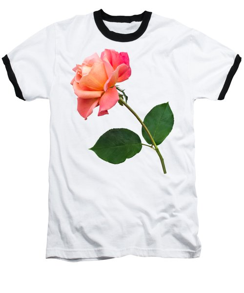 Orange Rose Specimen Baseball T-Shirt