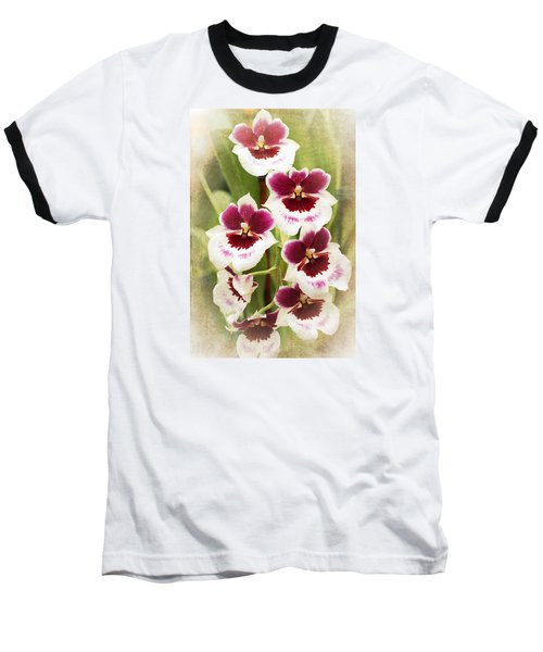 Orchid 2 Baseball T-Shirt by Catherine Lau