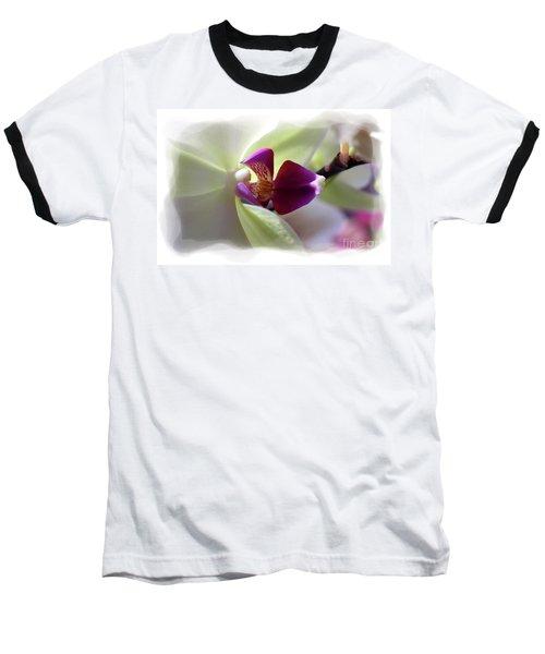 Orchid 2 Baseball T-Shirt by David Bearden