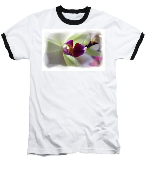 Orchid 2 Baseball T-Shirt