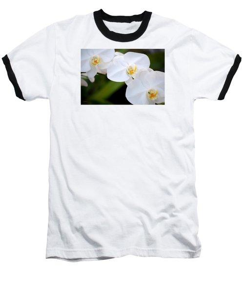 Orchid Flow Baseball T-Shirt