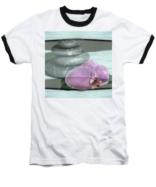 Orchid Tranquility Baseball T-Shirt