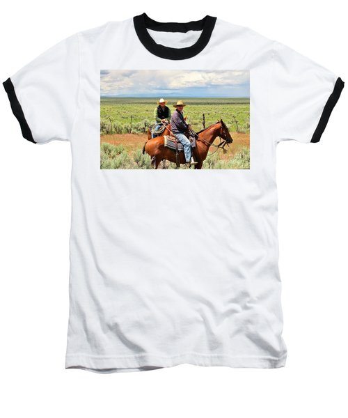 Baseball T-Shirt featuring the photograph Oregon Cowboys by Michele Penner