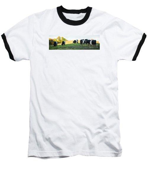Oreos - Milk Included Baseball T-Shirt by Carol Lynn Coronios