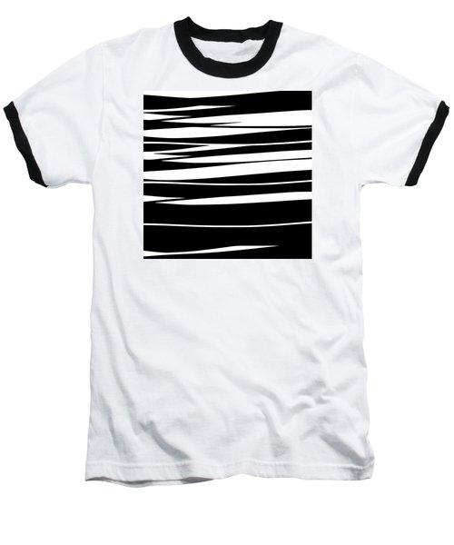 Organic No 9 Black And White Baseball T-Shirt