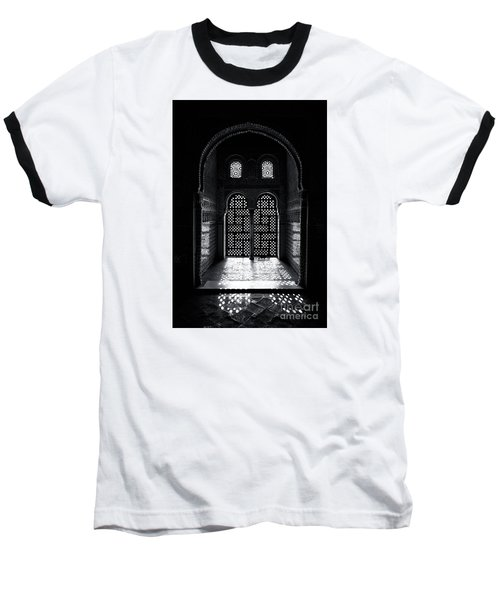 Ornate Alhambra Window Baseball T-Shirt