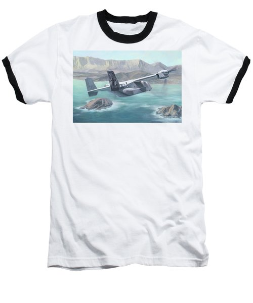 Osprey Over The Mokes Baseball T-Shirt