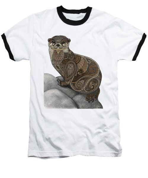 Otter Tangle Baseball T-Shirt