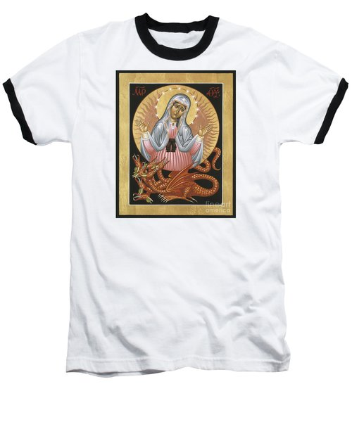 Our Lady Of The Apocalypse 011 Baseball T-Shirt