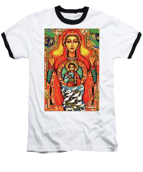 Our Lady Of The Sign Baseball T-Shirt