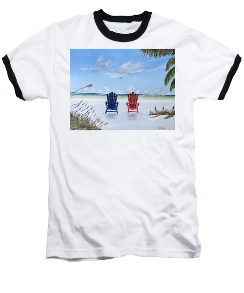 Our Spot On Siesta Key Baseball T-Shirt