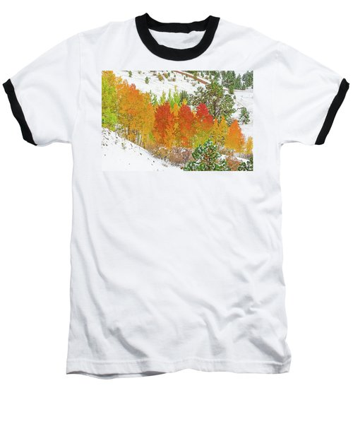 Our Winter Begins Around Mid October.  Baseball T-Shirt