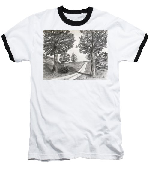 Out For A Walk Baseball T-Shirt