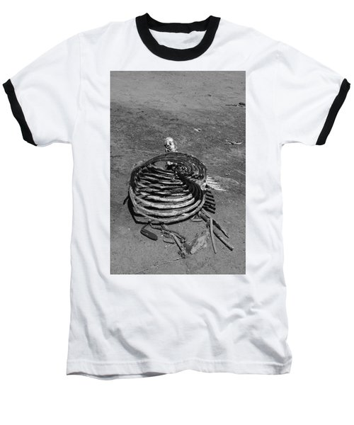 Baseball T-Shirt featuring the photograph Out Of Control by Marie Neder