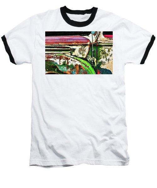 Out Of Warrantee Baseball T-Shirt by Jeffrey Jensen