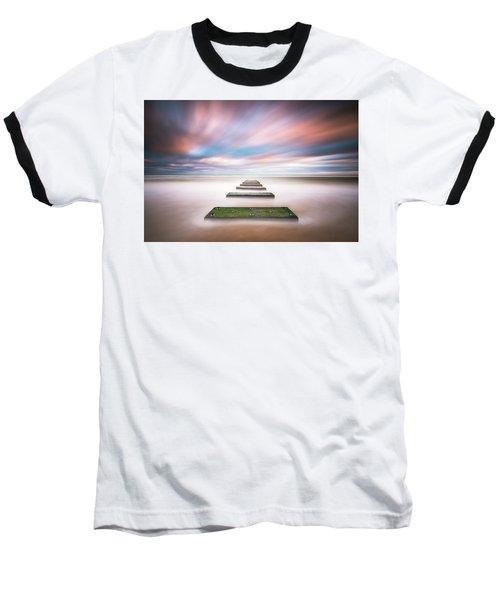 Outer Banks North Carolina Seascape Nags Head Nc Baseball T-Shirt