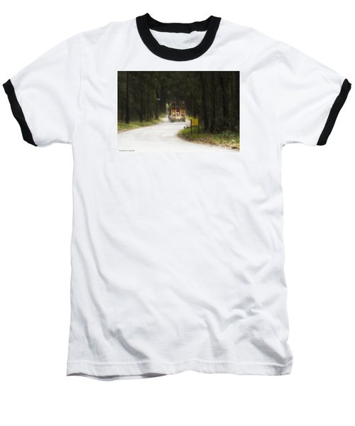 Baseball T-Shirt featuring the photograph Over Size 01 by Kevin Chippindall