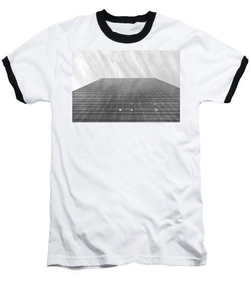 Baseball T-Shirt featuring the photograph Over The City by Valentino Visentini