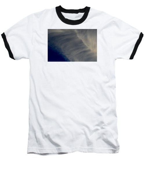 Baseball T-Shirt featuring the photograph Overhead Cirrus  by Lyle Crump