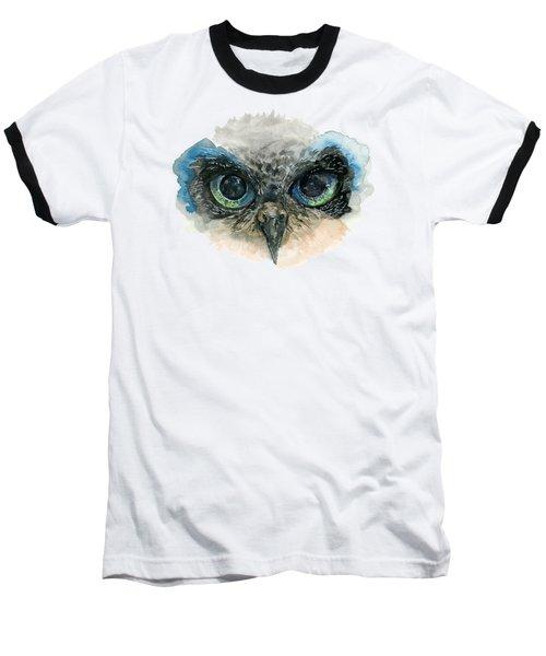 Owl Eyes Baseball T-Shirt