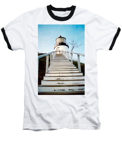 Owl's Head Light Baseball T-Shirt