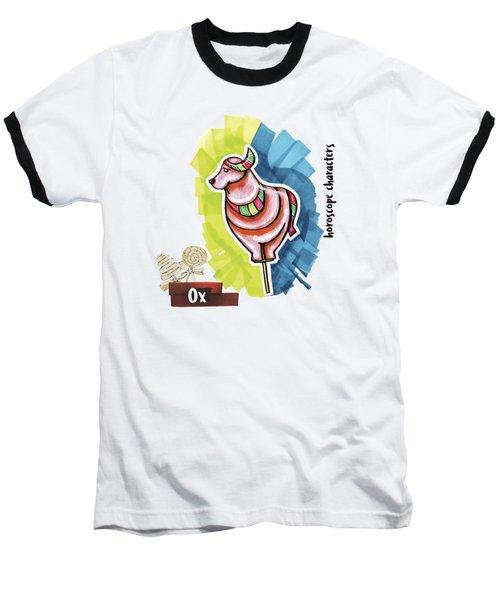 Ox Horoscope Baseball T-Shirt