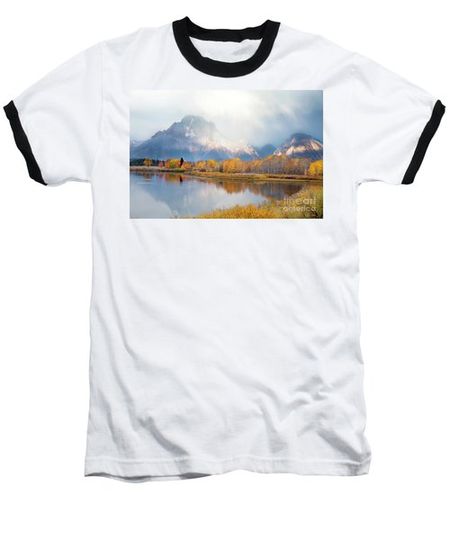 Oxbow Bend Turnout, Grand Teton National Park Baseball T-Shirt